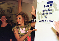 Mel B, Scary spice officialy opens  the  Host Media Centre in Chapeltown Leeds on Thursday evening