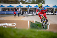 #116 (AFREMOVA Natalia) RUS at Round 2 of the 2020 UCI BMX Supercross World Cup in Shepparton, Australia.