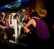 Bayswater, London,  University of LondonTeams,  competing in the Snowdon Rowing Challenge, on Friday   05/03/2010  at the Porchester Hall London GREAT BRITAIN.  [Mandatory Credit. Peter Spurrier/Intersport Images]