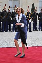 August 7, 2017 - Paris, France - NICOLE BRICQ - FRANCOIS HOLLANDE ET SA COMPAGNE VALERIE TRIERWEILER ACCUEILLENT LE PRESIDENT DE LA REPUBLIQUE DE POLOGNE SON EXCELLENCE BRONISLAW KOMOROWSKI ET SA FEMME ANNA KOMOROWSKA POUR UN DINER D'ETAT AU PALAIS DE L'ELYSEE A PARIS LE 7 MAI 2013 (Credit Image: © Visual via ZUMA Press)