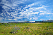 Clouds at Western Brook Pond<br />