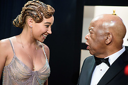 Amandla Stenberg and U.S. Representative John Lewis during the live ABC Telecast of the 91st Oscars® at the Dolby® Theatre in Hollywood, CA on Sunday, February 24, 2019.