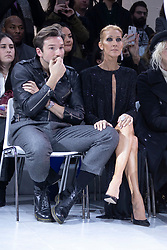 Close friends Celine Dion and Pepe Munoz attend the Alexandre Vauthier Haute Couture Spring Summer 2019 show as part of Paris Fashion Week on January 22, 2019 in Paris, France. Photo by Bakounine/ABACAPRESS.COM