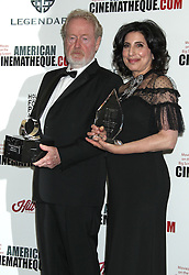 Ridley Scott, Sue Kroll, The 30th Annual American Cinematheque Awards honoring Ridley Scott and Sue Kroll, Beverly Hilton Hotel (Beverly Hills, California)