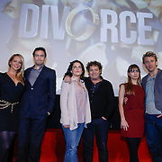NLD/Amsterdam/20121210 - Persviewing Divorce, Chantal Janzen, Jeroen Spitzenberger, Carly Wijs, Dirk Zeelenberg, Katja Herbers en Waldemar Torenstra