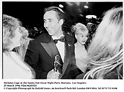 Nicholas Cage at the Vanity Fair Oscar Night Party Mortons,  Los Angeles. 25 March 1996. Film.96205f22<br />© Copyright Photograph by Dafydd Jones<br />66 Stockwell Park Rd. London SW9 0DA<br />Tel 0171 733 0108