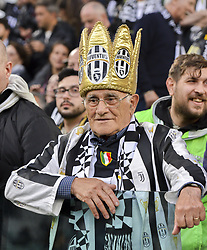 May 19, 2019 - Turin, Turin, Italy - Juventus FC supporter during the Serie A match at Allianz Stadium, Turin (Credit Image: © Antonio Polia/Pacific Press via ZUMA Wire)