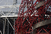 Landscape of 2012 Olympic Park site showing The Orbit art tower and the main stadium at Stratford. The London Olympic Stadium will be the centrepiece of the 2012 Summer Olympics and Paralympics. The stadium has capacity for the Games of approximately 80,000 making it temporarily the third largest stadium in Britain. The ArcelorMittal Orbit Tower is the newest addition to the Olympic Park and provides an attraction to rival those visited the world over. The Orbit tower gives views over the Park and the rest of London, it also caters for events and conferences offering delegates and organisers alike a unique setting and location for their event.