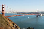 San Francisco California USA, Golden Gate Bridge October 2006