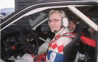 Motorport, Rally Hokksund 8. januar ble første løpet  for Trond Sveinsvoll som satser med en Ford Escort WRC. Sveinsvoll endte opp med 16. plass totalt og 4. plass i klassen.  Foto: Digitalsport, Jan A. Holshagen