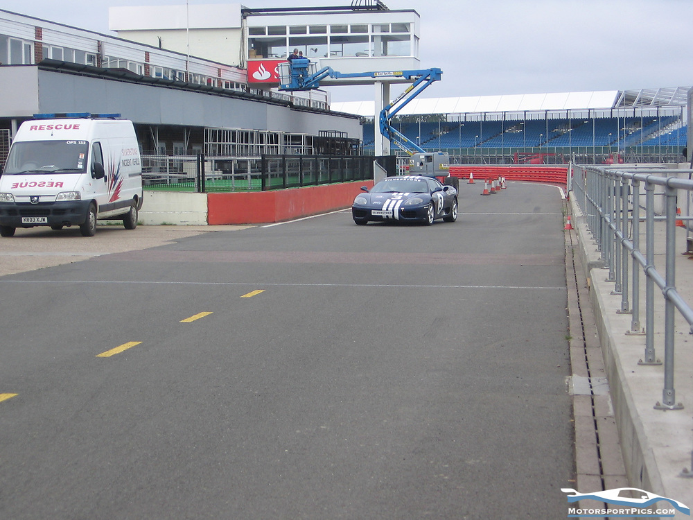 08 June 2010. Supercar Experience. Silverstone