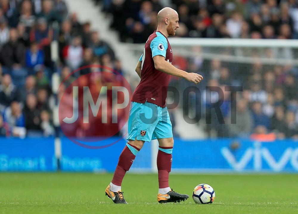 James Collins of West Ham United - Mandatory by-line: Paul Roberts/JMP - 16/09/2017 - FOOTBALL - The Hawthorns - West Bromwich, England - West Bromwich Albion v West Ham United - Premier League