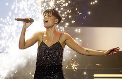 Halsey performs at the iHeartRadio MMVAs in Toronto, ON, Canada, on Sunday August 26, 2018. Photo by Frank Gunn/CP/ABACAPRESS.COM