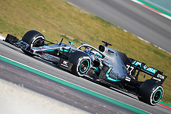 February 28, 2019 - Montmelo, BARCELONA, Spain - Valtteri Bottas (Mercedes AMG Petronas Motosport) W10 car, seen in action during the winter testing days at the Circuit de Catalunya in Montmelo (Catalonia), Thursday, February 28, 2019. (Credit Image: © AFP7 via ZUMA Wire)