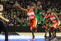 Tyrone Brazelton  - 29.12.2014 - Lyon Villeurbanne / Le Havre - 16e journee Pro A<br />Photo : Jean Paul Thomas / Icon Sport