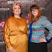 Jayde Adams and Jenny Ryan, the vixen attended the Red Carpet Funny Women Awards at the Bloomsbury Theatre, London on 23rd September 2021.