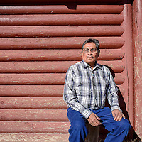 011514       Cable Hoover<br /> <br /> Cultural advisor Johnson Dennison was on hand at the NASA workshop to present the Navajo perspective at Navajo Technical University in Crownpoint Wednesday.
