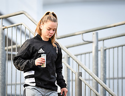 Ellie Green of Harlequins \before the game - Mandatory by-line: Andy Watts/JMP - 06/02/2021 - Sandy Park - Exeter, England - Exeter Chiefs Women v Harlequins Women - Allianz Premier 15s