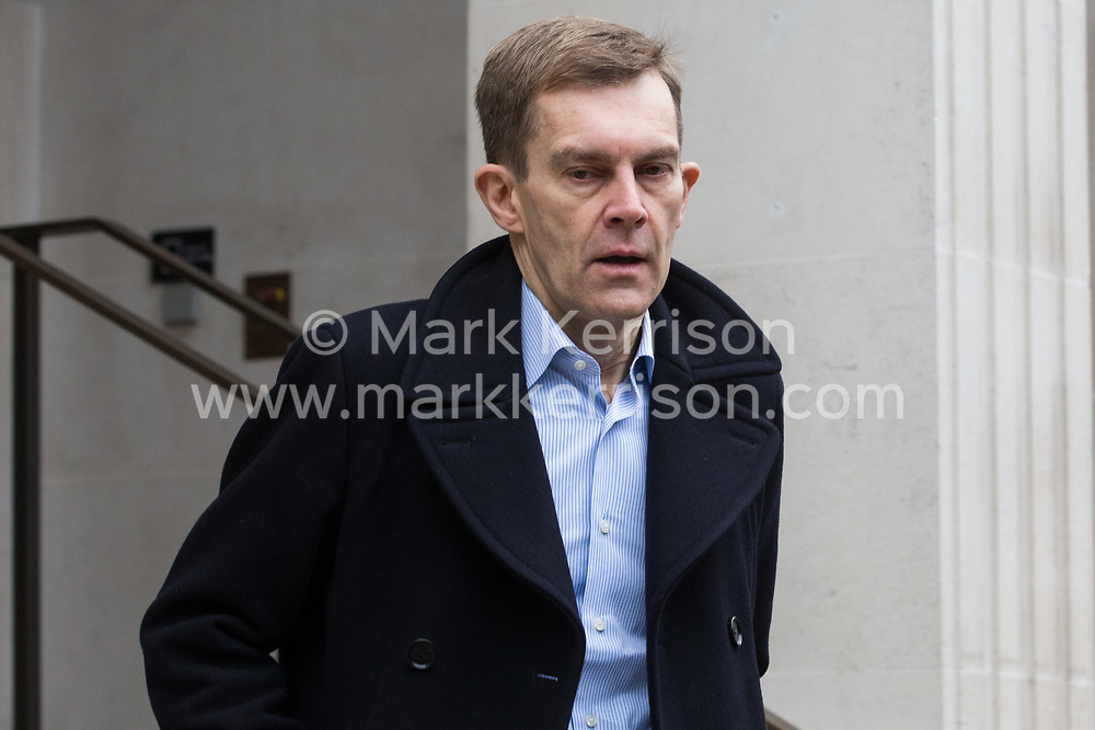 London, UK. 16 November, 2019. Seumas Milne, Executive Director of Strategy and Communications, leaves Labour's Clause V meeting. The Clause V meeting, chaired by the party leader and attended by members of the National Executive Committee (NEC), relevant Shadow Cabinet members and members of the National Policy Forum, will finalise the party's general election manifesto. The meeting is named after Clause V of the Labour Party rulebook. Credit: Mark Kerrison/Alamy Live News