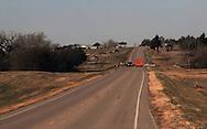 11/7/07 Smith Center, KS.Highway 281 leading into Smith Center KS...(Chris Machian/Prairie Pixel Group)