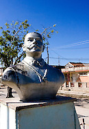 Bust of Antonio Maceo in Cardenas, Matanzas, Cuba.