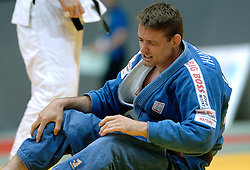 27-05-2006 JUDO: EUROPEES KAMPIOENSCHAP: TAMPERE FINLAND<br /> Mark Huizinga verliest zijn derde partij kansloos van de Rus Ivan Pershin<br /> 2006-WWW.FOTOHOOGENDOORN.NL