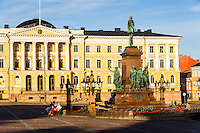 Finland, Helsinki. The Helsinki City Hall.