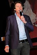 Presentatie 11e editie Top 40 Hitdossier en lancering nieuwe website www.top40.nl in De Vorstin, Hilversum.<br /> <br /> Op de foto:  Erik de Zwart