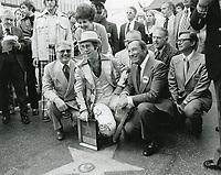 1975 Elton John's Walk of Fame ceremony