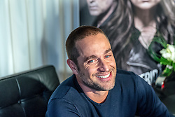 """LOS ANGELES, CA - JANUARY 10: Argentinian born actor Michel Brown attends a press conference to promote the upcoming TV Series """"La Querida del Centauro"""" at the SLS Hotel on January 10, 2016 in Los Angeles, California. La querida del Centauro, is an upcoming Spanish-language TV Series produced by Teleset and Sony Pictures Television for Telemundo. It will be starring Ludwika Paleta, Michel Brown and Humberto Zurita. Byline, credit, TV usage, web usage or linkback must read SILVEXPHOTO.COM. Failure to byline correctly will incur double the agreed fee. Tel: +1 714 504 6870."""
