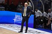 Vitucci Francesco<br /> Vanoli Cremona - Fiat Torino<br /> Lega Basket Serie A 2016/2017<br /> Cremona 12/02/2017<br /> Foto Ciamillo-Castoria