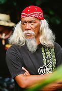 Hawaiian man, Hana, Maui, Hawaii