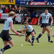 Europa Cup bekerwinnaars finale, Laren - Canterbury, Kim Lammers (R)