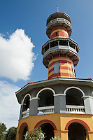 Ho Withun Thasana or Sage's Lookout is a three storey building with a spiral staircase leading to the top floor hall at Bang Pa-in. When residing in Bang Pa-In Palace, King Rama V used this hall as  to get the bird's eye view of the surrounding countryside.
