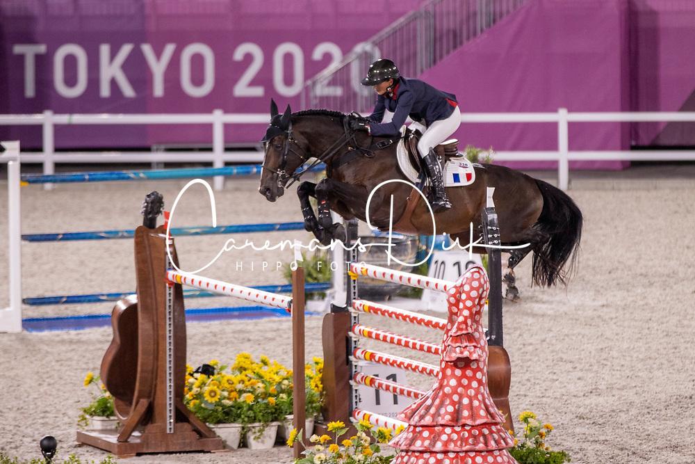 Leprevost Penelope, FRA, Vancouver De Lanlore, 338<br /> Olympic Games Tokyo 2021<br /> © Hippo Foto - Dirk Caremans<br /> 06/08/2021