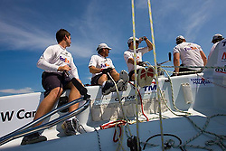 2008 Monsoon Cup. Onboard with Adam Minoprio and crew practicing  (Wednesday 3rd December 2008). .