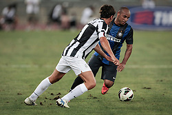 Bari (BA) 21.07.2012 - Trofeo Tim 2012. Inter - Juventus. Nella Foto: De Ceglie (J) e Jonathan (I)