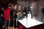 LARA SKEET; OLYMPIA CAMPBELL;, Cartier Tank Anglaise launch. Kensington Palace Orangery, London.  19 April 2012.