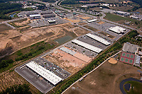 Commercial real estate development aerial photography in Baltimore Maryland