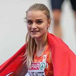 Lisanne de Witte, brons op de 400m bij het EK atletiek in Berlijn op 11-8-2018