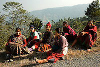 The population of Nepal is a mosaic of diverse ethnic groups including the Thakali, Tamang, Newar, Sherpa, Tibetan and Gurung. In other words, the country is a meeting place of Indo-Aryan peoples from the Indian subcontinent and the Mongoliod people of the Himalaya regions.