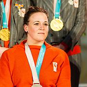 NLD/Den Haag/20180323 - Huldiging Olympische en Paralympische medaillewinnaars, Linda van Impelen