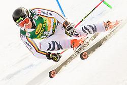 March 9, 2019 - Kranjska Gora, Kranjska Gora, Slovenia - Benedikt Staubitzer of Germany in action during Audi FIS Ski World Cup Vitranc on March 8, 2019 in Kranjska Gora, Slovenia. (Credit Image: © Rok Rakun/Pacific Press via ZUMA Wire)