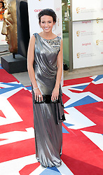 Michelle Keegan arriving at the British Academy Television Awards in London, Sunday , 27th May 2012.  Photo by: Stephen Lock / i-Images