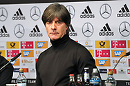 Press Conference Germany Coach Joachim Low during the International Friendly Game football match between Germany and Brazil on march 27, 2018 at Olympic stadium in Berlin, Germany - Photo Laurent Lairys / ProSportsImages / DPPI
