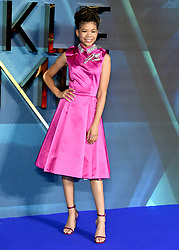 Storm Reid attending the A Wrinkle in Time European Premiere held at the BFI IMAX in Waterloo, London. Photo credit should read: Doug Peters/EMPICS Entertainment