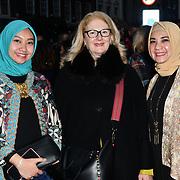Fashionist attend Indonesian Fashion Showcase - Jera at Fashion Scout London Fashion Week AW19 on 16 Feb 2019, at Freemasons' Hall, London, UK.