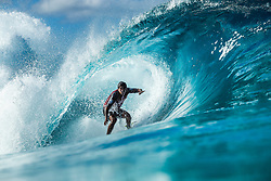 December 16, 2018 - Pupukea, Hawaii, U.S. - Miguel Pupo (BRA) advances to Round 3 of the 2018 Billabong Pipe Masters after winning Heat 5 of Round 2. (Credit Image: © Kelly Cestari/WSL via ZUMA Wire)