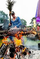 Christian Stevenson ( DJ BBQ) at Camp Bestival 2021, Lulworth Castle photo by Brian Jordan
