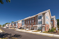 Exterior image of Heritage Overlook Apartment Homes in Baltimore by Jeffrey Sauers of Commercial Photographics